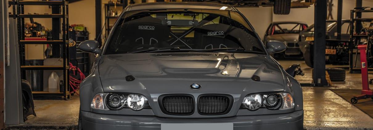 BMW E46 M3 V10 Track Car