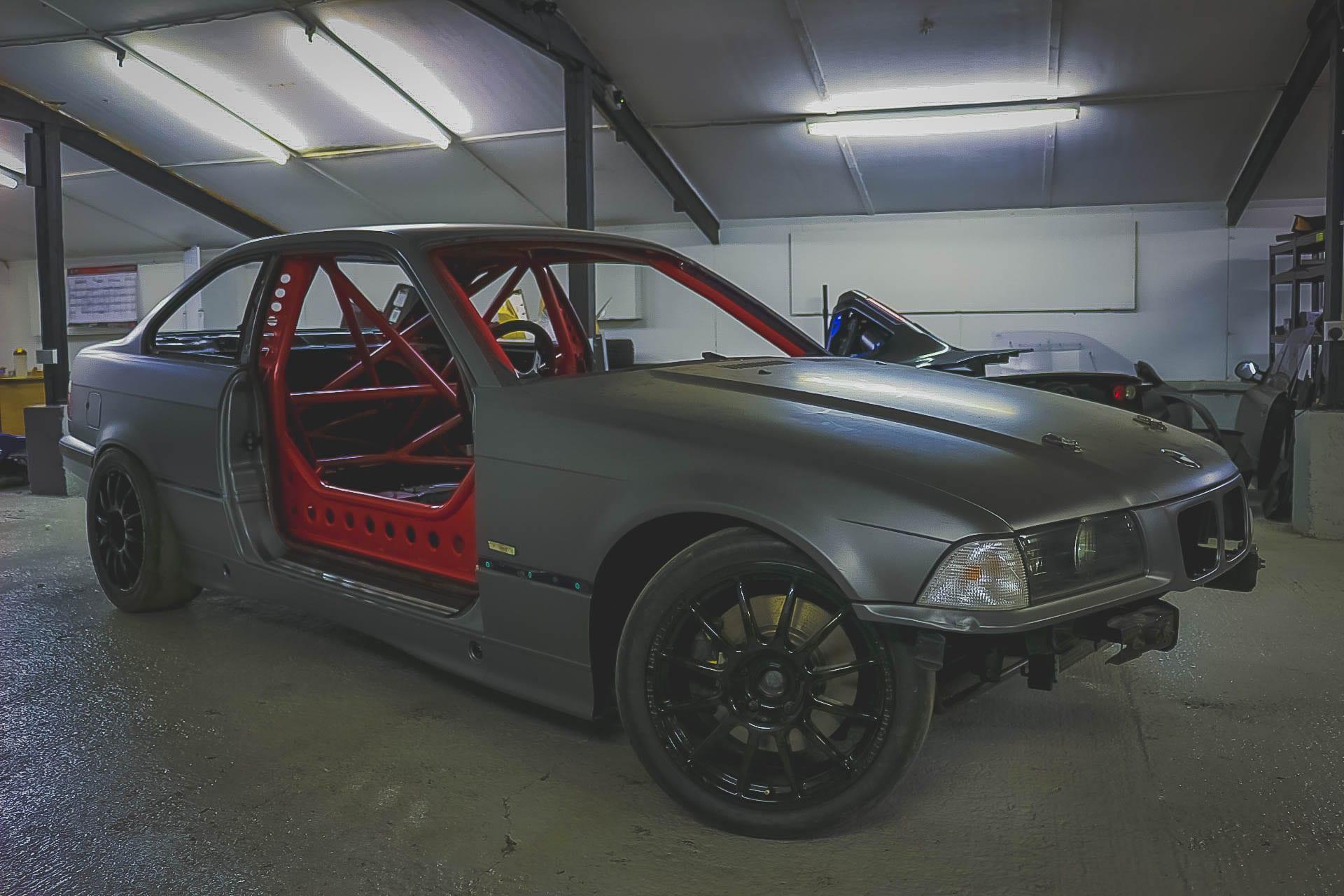 Revolt Autoworks Bmw E36 328i Track Car Project