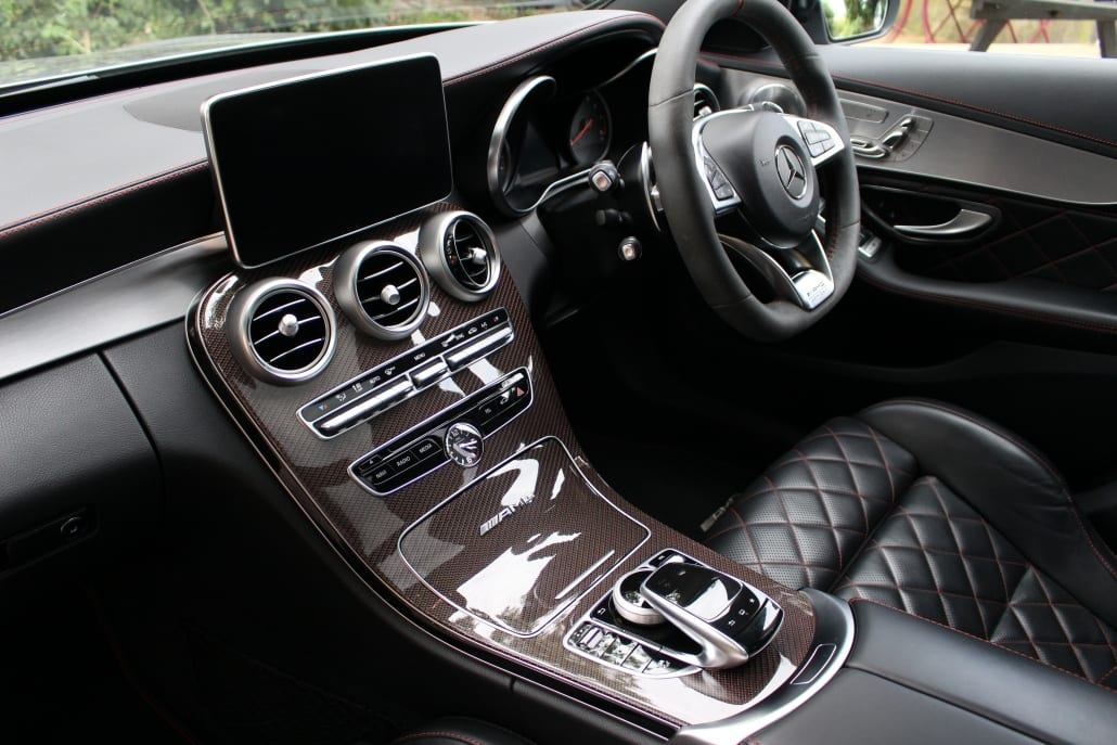 Dashboard of Mercedes-AMG C63 S Edition 1 Estate