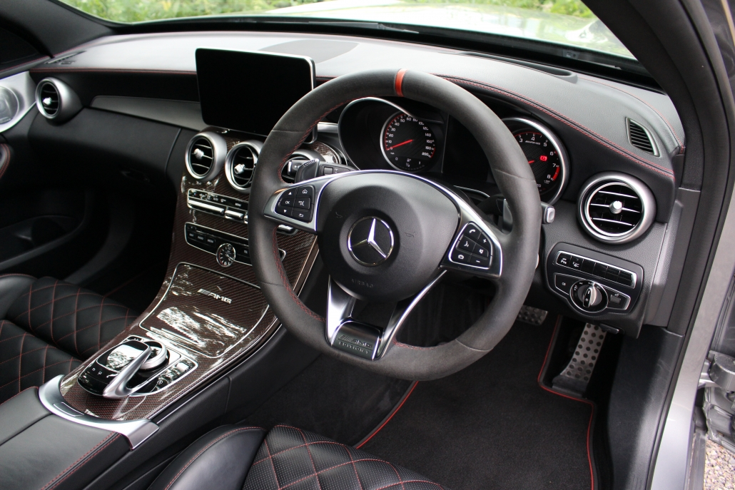 Dashboard of Mercedes-AMG C63 S Edition 1 Estate for sale